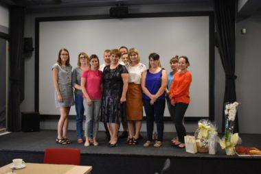 Zdjęcia z galerii Podziękowania, wyrazy uznania i gratulacje dla Heleny Lelek