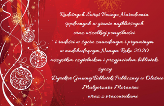 Zdjęcie do wpisu Wesołych Świąt Bożego Narodzenia!