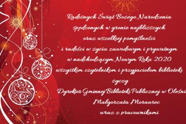Zdjęcia z galerii Życzenia świąteczne