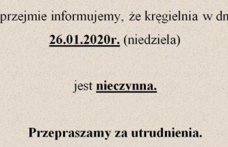 Przejdź do wpisu Informacja