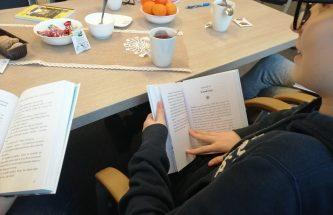 """Zdjęcie do wpisu """"Wielka Księga Klary"""" M. Wicha podczas spotkania DKK dla dzieci"""