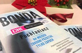 """Przejdź do wpisu """"Pochłaniacz"""" Katarzyny Bondy – spotkanie DKK dla dorosłych"""
