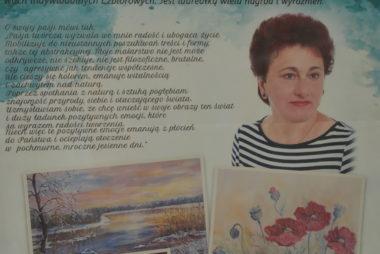 Zdjęcie z galerii Wystawa malarstwa Stefanii Wójcik