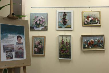 Zdjęcia z galerii Wystawa malarstwa Stefanii Wójcik