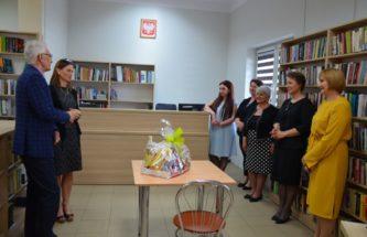 Zdjęcie do wpisu Biblioteka Publiczna w Szczucinie w nowym lokalu