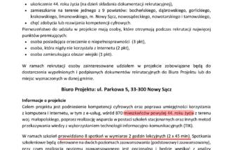 """Przejdź do wpisu Projekt """"Cyfrowa Małopolska"""""""
